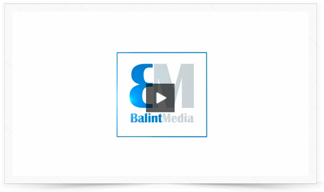 Balint Media Logo-Animation