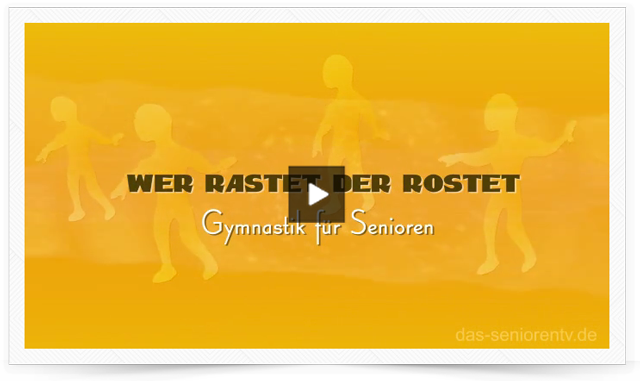 Gymnastik für Senioren Intro-Animation